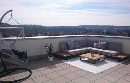 147 m² Penthouse mit Panoramafernsicht