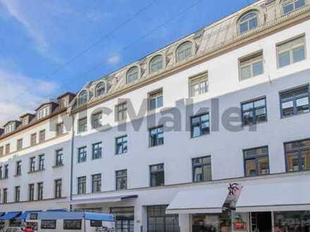 Bestlage am Gärtnerplatz: Gepflegte 4-Zi.-ETW mit Balkon im trendigen Glockenbachviertel