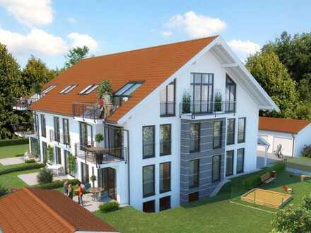 4 Zimmer 104 qm Südseite hell und sonnig mit Balkon