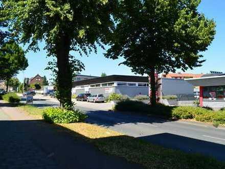 Betriebshof mit Büros, Sozialräumen, Lagerflächen und Halle in zentraler Lage von Rheine!