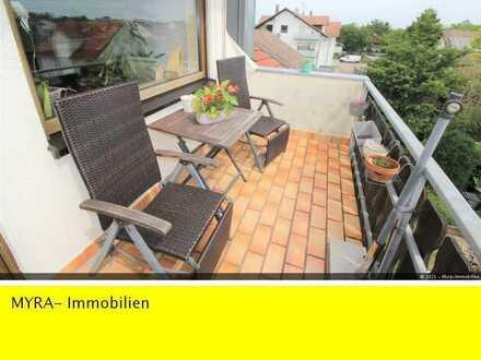 **SOFORT VERFÜGBAR! **65 m² mit Einbauküche, Balkon und Garage**