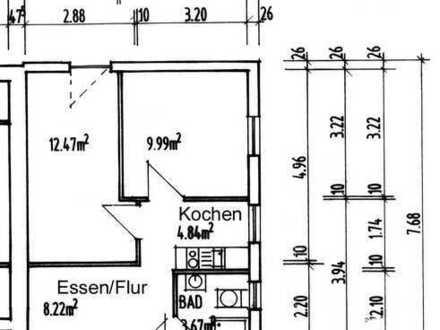 Möblierte 2-Zimmer-Wohnung, Privatvermietung