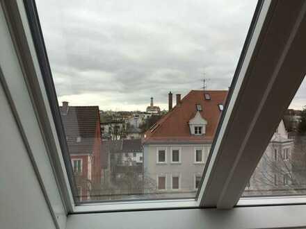 Über den Dächern von Augsburg - modernes Wohnen im Stadtzentrum