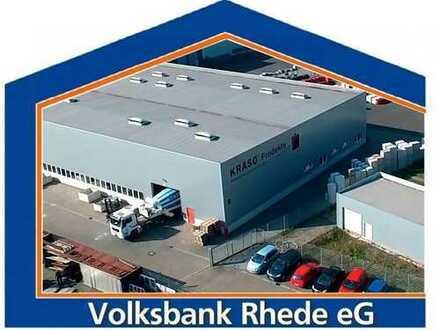Großzügiges Gewerbegrundstück mit Produktions- und Lagerhalle in Rhede
