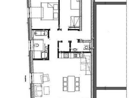 A1321 helle 3 Zimmerwohnung im Dachgeschoss
