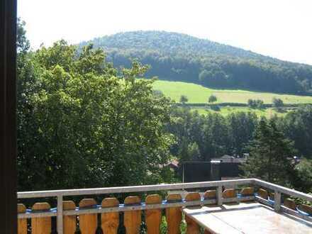 Gepflegte 4-Raum-Wohnung mit Balkon, Tageslichtbad und Einbauküche in Eschau/ Hobbach