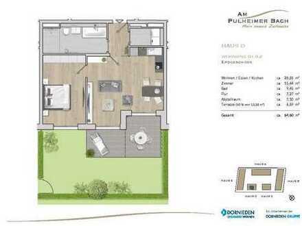 Zentral und doch grün gelegen - Ihre neue 2-Zimmer-Erdgeschosswohnung in Pulheim