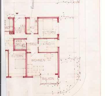 Winnenden Zentral Hell 3 Zimmerwohnung mit 1 Garagen