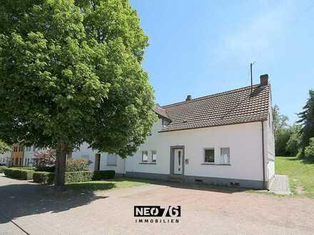 Schönes 1-FH mit großen Grundstück in Homburg-Bruchhof zu verkaufen