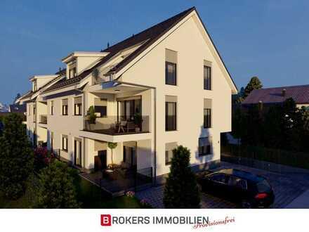 Villa Rollwald: Neubau 2-Zimmer-Wohnung mit Dachterrasse