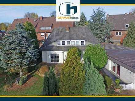 PROVISIONSFREI für Käufer – Einfamilienhaus mit Büroanbau und Baugrundstück in Greven-Reckenfeld