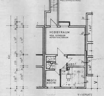 Erstbezug nach Sanierung mit EBK: freundliches Reihenhaus mit sechs Zimmern in Lengfeld, Würzburg