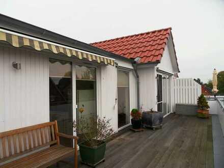 Wohnung mit gehobener Ausstattung und großer Dachterrrasse in sehr gepflegter Anlage