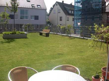 3-Zimmerwohnung gehobene Ausstattung mit Garten und Terrasse - von Privat