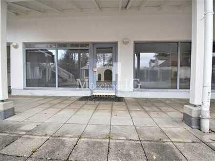 MÜNCHNER IG: GÜNSTIGE GELEGENHEIT - Büro- oder Praxis mit 21qm Terrasse im Herzen von Puchheim!