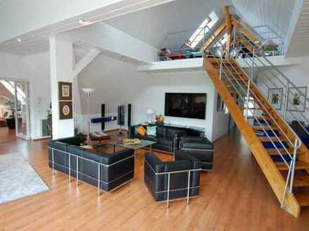 Penthouse-Büro 250 m²+150 m² Lager/Werkstatt