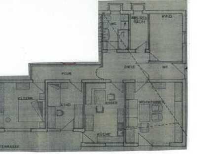 Gepflegte 4-Zimmer-Wohnung mit Terrasse in Laaber