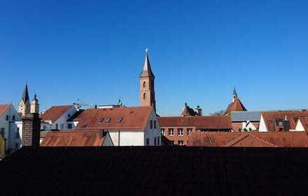 Blick über die Ingolstädter Altstadt