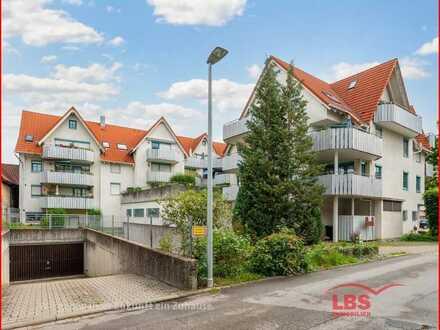 Gepflegte Wohnung mit Dachterrasse und TG-Stellplatz