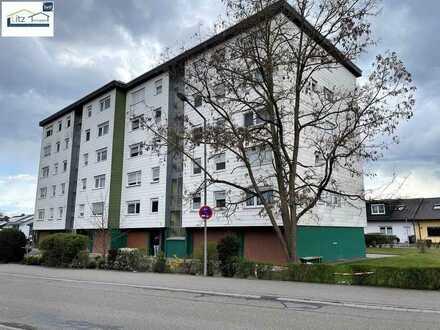 Hockenheim - vermietete 4 ZKB Wohnung mit Balkon und Doppelgaragenplatz