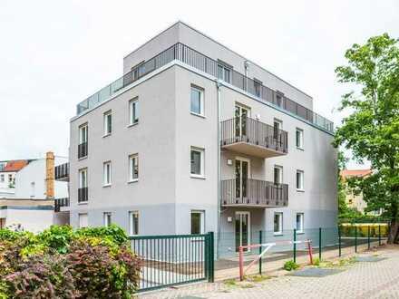 Neubauwohnung für Selbstnutzer oder Anleger. Dachgeschoss mit umlaufender Terrasse.