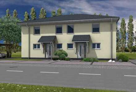 Neubau einer Doppelhaushälfte in Eberswalde Westend - Kupferhammer - nur wenige Minuten zum Bahnhof.