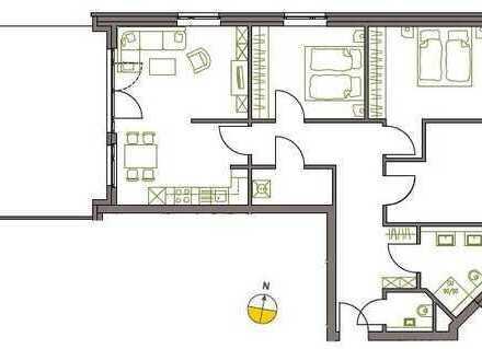 4-Zi. Staffelgeschosswohnung, 115,18m² - Flintbeker Carreé