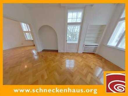 Schwachhausen-Gete! Großzügige Liebhaberwohnung in Altbremer Kaufmannsvilla!