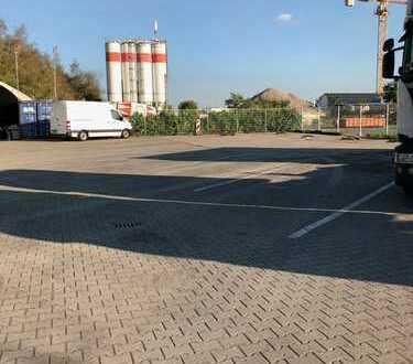 Stellplatz für Lkw, Pkw , Wohnwagen , Wohnmobil , Lagercontainer