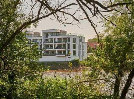 Exklusives Penthouse mit Dachterrasse und traumhaftem Blick auf die Lesum