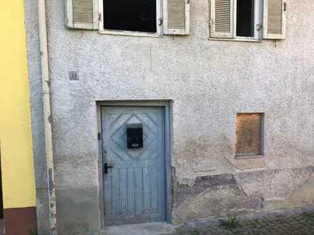 Reihenhaus zum Sanieren in Lauingens Altstadt!