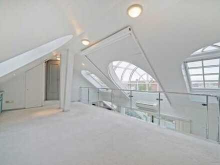 Über den Dächern von München! Exkl. Galeriewhg. im Herzen von Schwabing! 2-Zimmer mit Wintergarten