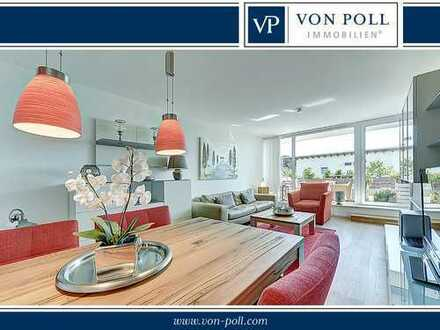SCHÖNER WOHNEN: Liebevoll gestaltete 3-Raum Wohnung mit Sonnenbalkon