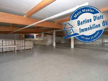 DIETZ: Provisionsfreie ebenerdige Lager- und Produktionsfläche im Erdgeschoss zu vermieten!