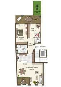 Exklusive 3-Zimmerwohnung im Herzen von Landshut !!