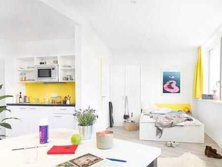 Auch für 2 Personen! Ab Januar 2020 verfügbar! Geräumiges 1-Zimmer-Apartment für Studenten - H2F