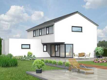 Modernes Einfamilienhaus in KfW55 mit Keller und Garage mitten im Zentrum !