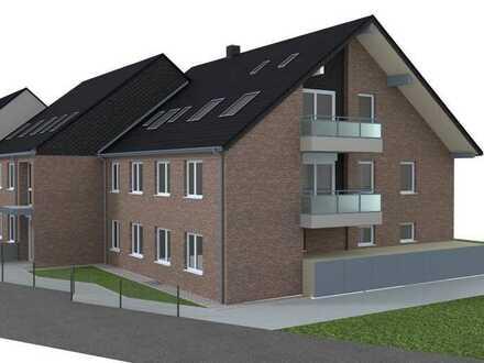Helle 3 Zimmer Dachgeschosswohnung mit Südbalkon und traumhaften Rheinblick im Neubau in Flehe