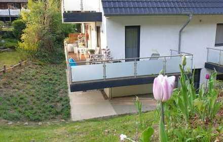 Traumhafte 3-Zi-Maisonette-Wohnung mit Terrasse, EBK, KfZ-Stellplatz zum 1.8.2020 zu vermieten