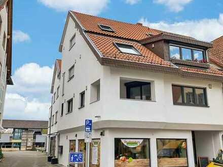 Arbeiten & Wohnung: schönes helles Büro im Zentrum von Nußloch