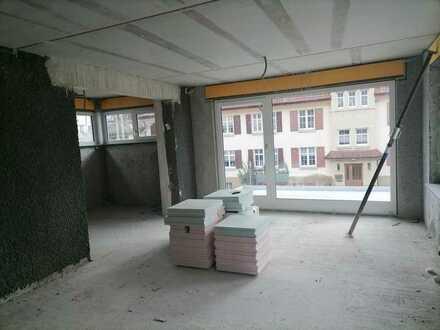 Stadtnahe 3-Zimmer-Neubau-Wohnung mit Balkon, Fußbodenheizung und Einbauküche