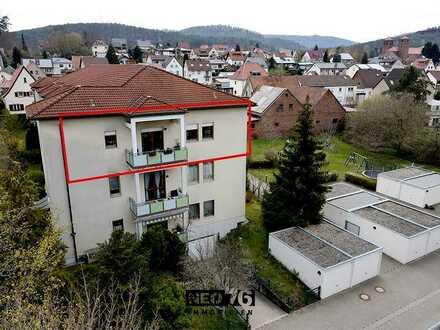 Traumhafte Eigentumswohnung mit Panoramablick in den Wasgau