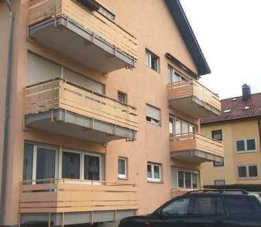 1-Zimmer-EG-Wohnung mit Balkon und Einbauküche in KA Grötzingen Köblerweg