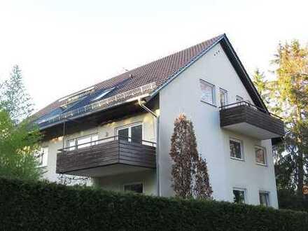 Großzügige 3 ½-Zimmer-Maisonette-Wohnung mit 2 Balkonen in gefragter Waldrandlage