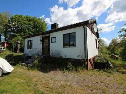 Kleines Haus außerhalb von Kyrkhult