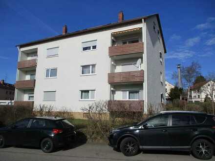 reserviert: 2,5- DG- Zimmerwohnung im gepflegten Mehrfamilienhaus in guter Lage