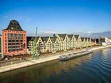 """Wohnen mit Vision am Rheinauhafen in Köln """"Siebengebirge"""""""