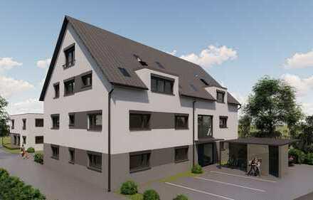 Exklusive 4,5 Zimmer DG Maisonette-Galerie Wohnung mit 115m² Wohnfläche, Neubau in Nebringen!