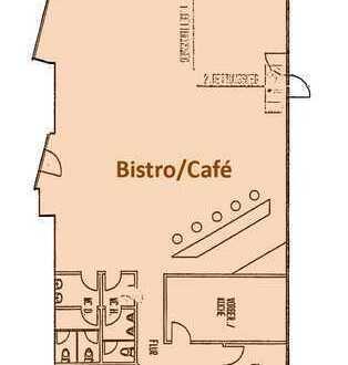 Einzigartiges Bistro / Gastronomie in zukunftsträchtiger Immobilie