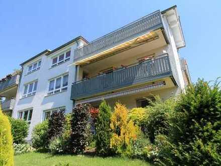Wohnen über 2 Etagen; große 5 Zimmer ETW mit 2 Sonnenloggien und Herkulesblick, die alternati